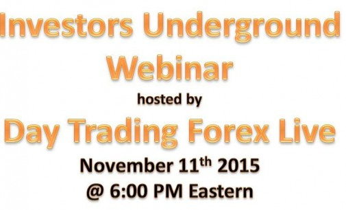 Investors Underground Webinar – Strategies For Day Trading Equities