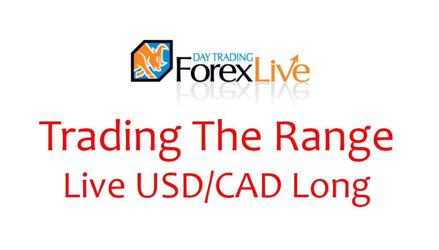 Trading Sideways Price Action with Market Manipulation – USD/CAD Live Trade